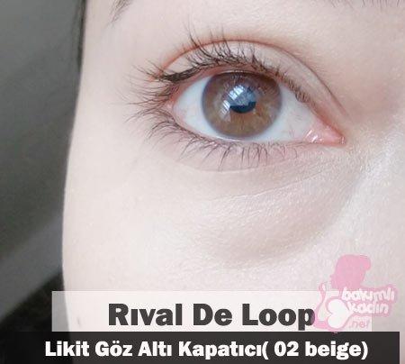 rıval de loop likit göz altı kapatıcı( 02 beige) 3