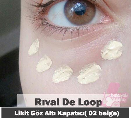 rıval de loop likit göz altı kapatıcı( 02 beige) 4
