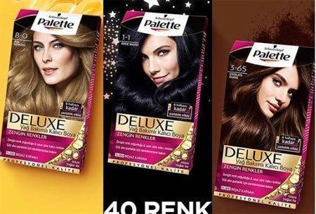 Palette Deluxe Saç Boyası