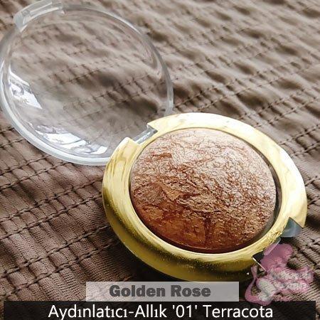 Golden Rose Aydınlatıcı-Allık '01' Terracota