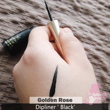 golden rose dipliner black 2