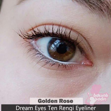 golden rose ten rengi eyeliner: dream eyes 1