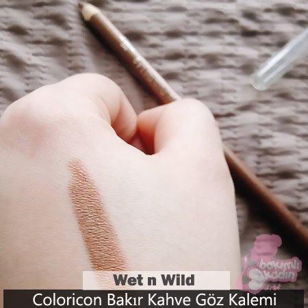 Wet n Wild Coloricon Bakır Kahve Göz Kalemi