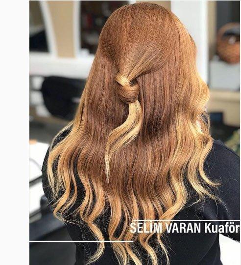 bal köpüğü karamel saç rengi ve modelleri 2