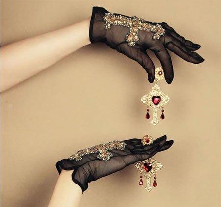dantel eldiven modelleri 3