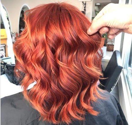kızıl saç rengi boyaları ve kızıl saç tonları 8