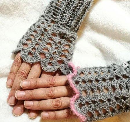 dantel eldiven modelleri 8