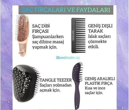 saç fırçaları (taraklar) hangi saç tipi i̇çin kullanılır? 4