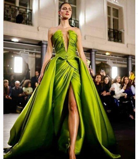 Özel tasarım / Haute Couture Elbise Modeli