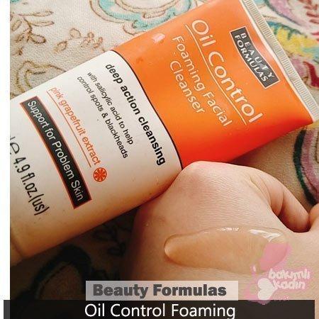 beauty formulas oil control foaming yüz yıkama jeli 1