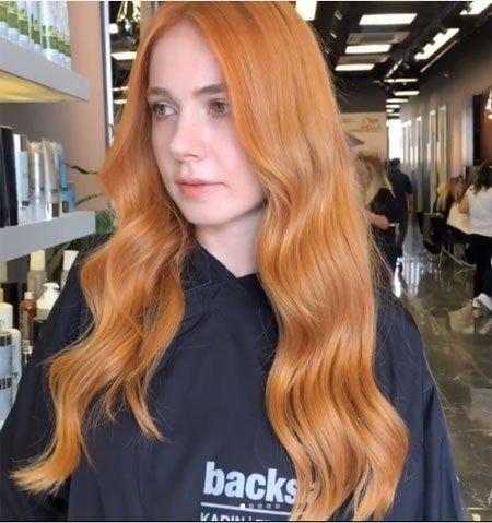 bakır karamel saç rengi nasıl elde edilir? 1
