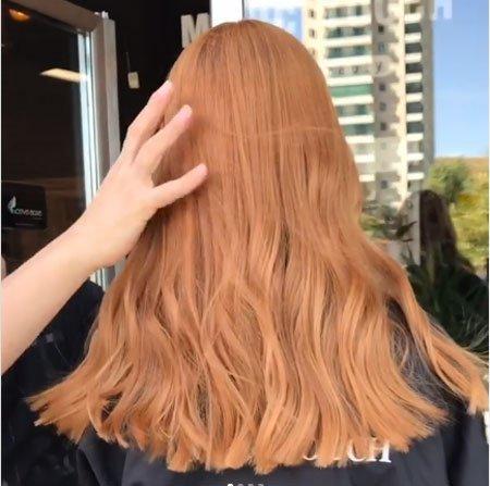 bakır karamel saç rengi nasıl elde edilir? 2
