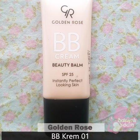 Golden Rose BB Krem 01 Kullanıcı yorumu