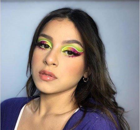 Neon Makyaj Önerileri Gözler için