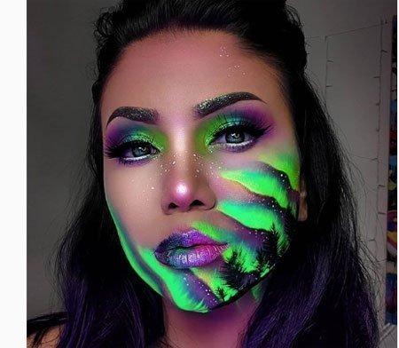 neon makyaj nedir? nasıl uygulanır ve makyaj malzemeleri 2
