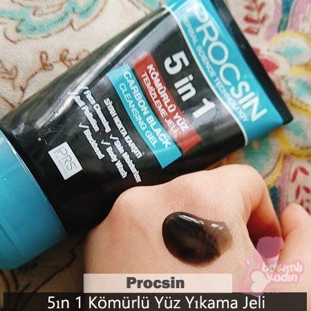 procsin 5ın 1 kömürlü yüz temizleme jeli 1