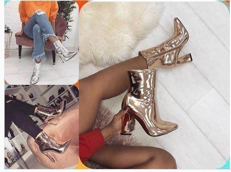 Çizme Rugan ayakkabı