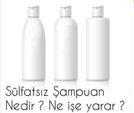 sülfatsız şampuan