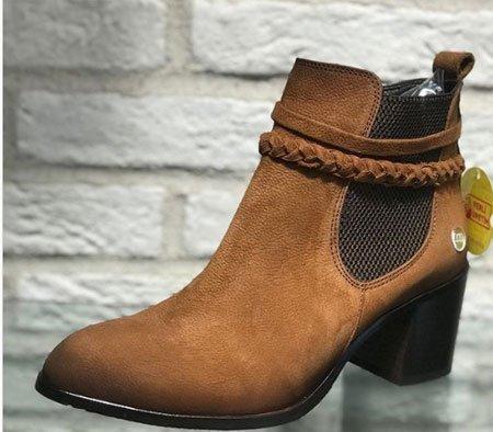 Vidala bot ayakkabı örneği