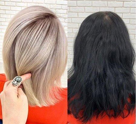 Siyah Saç Rengi Nasıl Açılır