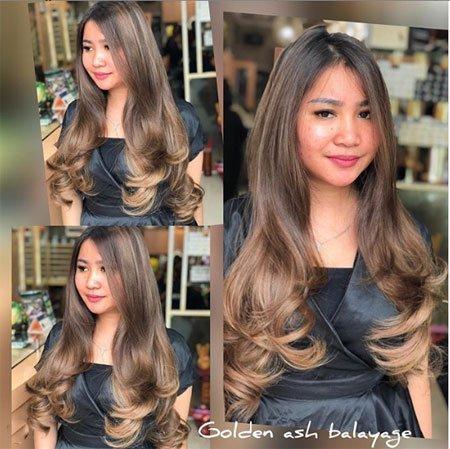 altın kumral saç rengi ve uygulama yöntemi 4
