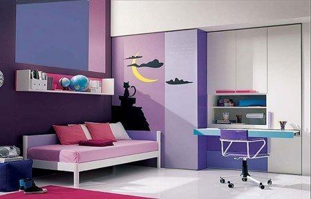 mor ev dekorasyon örnekleri 13