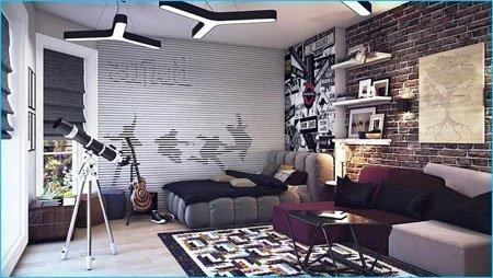 mor ev dekorasyon örnekleri
