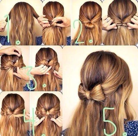 saça fiyonk nasıl yapılır 2