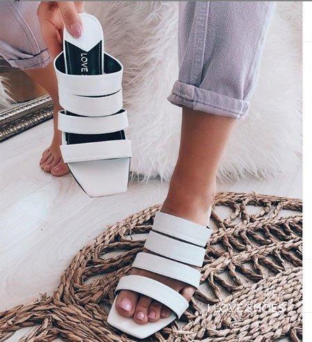düz taban sandalet