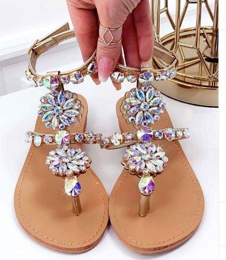 düz taban sandalet modelleri 6