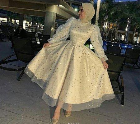 2021 tesettür mezuniyet elbiseleri için 45 en güzel kıyafet 8