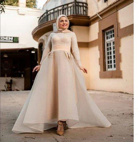 2020 Tesettür Mezuniyet Elbiseleri