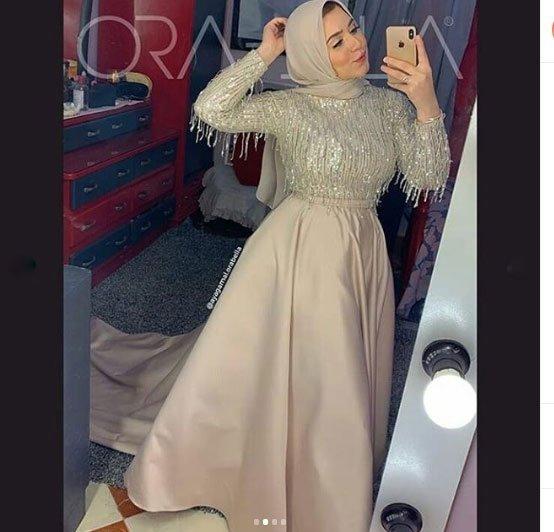 2021 tesettür mezuniyet elbiseleri için 45 en güzel kıyafet 6