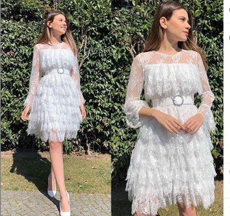 Rüyada Beyaz Elbise