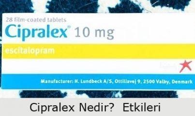 cipralex nedir? yan etkileri 13
