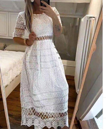 dantelli abiye elbise için 75 öneri 7