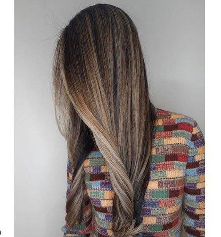 düz kesimli saç modelleri 2