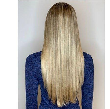 düz kesimli saç modelleri 4