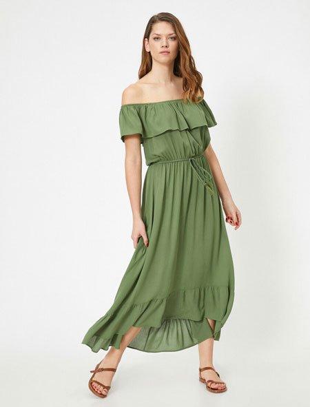 yazlık elbise modelleri için 2020 tredleri 3