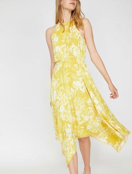 yazlık elbise modelleri için 2020 tredleri 4