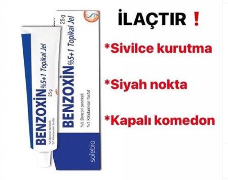 benzoxin krem