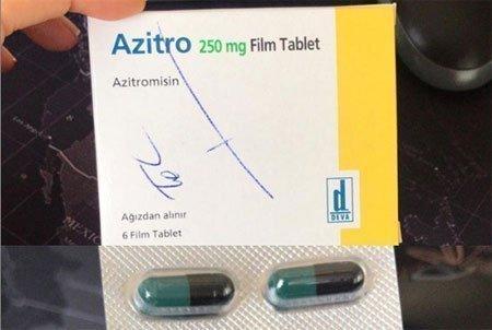 Azitro Sivilce Hapı