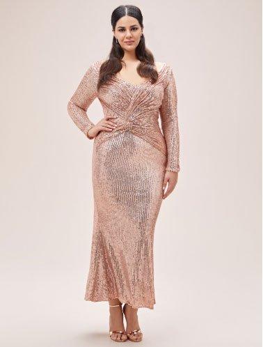 en çok beğeni alan 11 büyük beden abiye elbise 4
