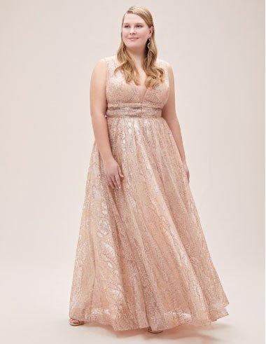 en çok beğeni alan 11 büyük beden abiye elbise 5
