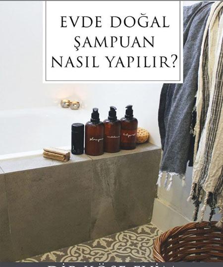 Doğal Şampuan Yapımı
