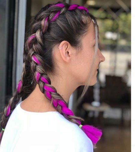 ters saç örgüsü nasıl yapılır - resimli anlatım 3