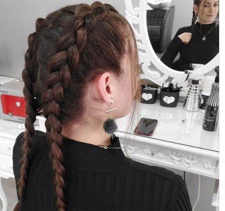 ters saç örgüsü nasıl yapılır - resimli anlatım 1