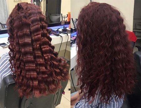 kolay su dalgası için 3 farklı saç yapım tekniği 3