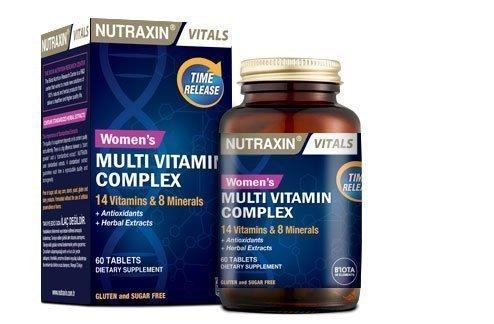 nutraxin kadınlara özel multi vitamin