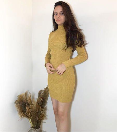 25 hardal rengi kıyafet kombini 1